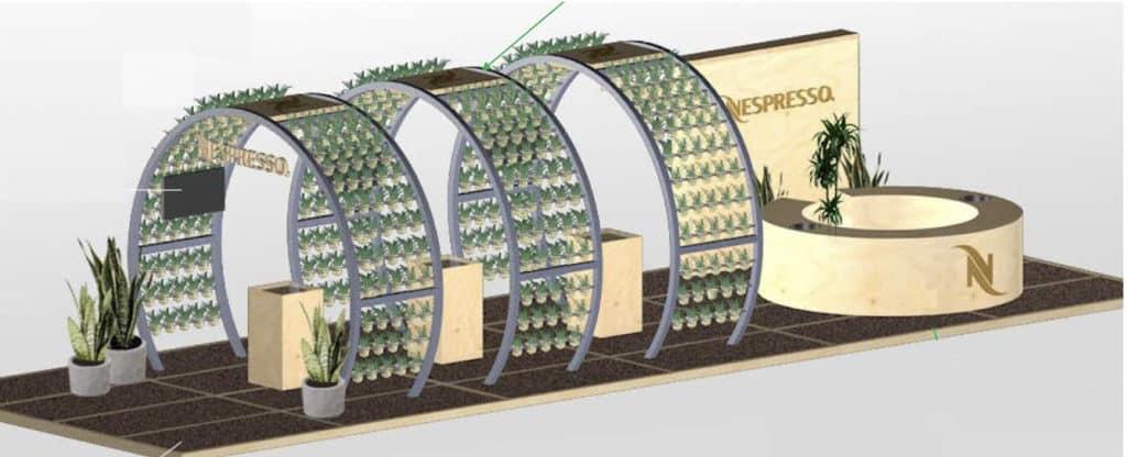"""圓方:Nespresso """"The Capsule Journey"""" 可持續發展主題體驗展覽 Nespresso """"The Capsule Journey"""" 展覽讓公眾瞭解粉囊回收的過程。"""