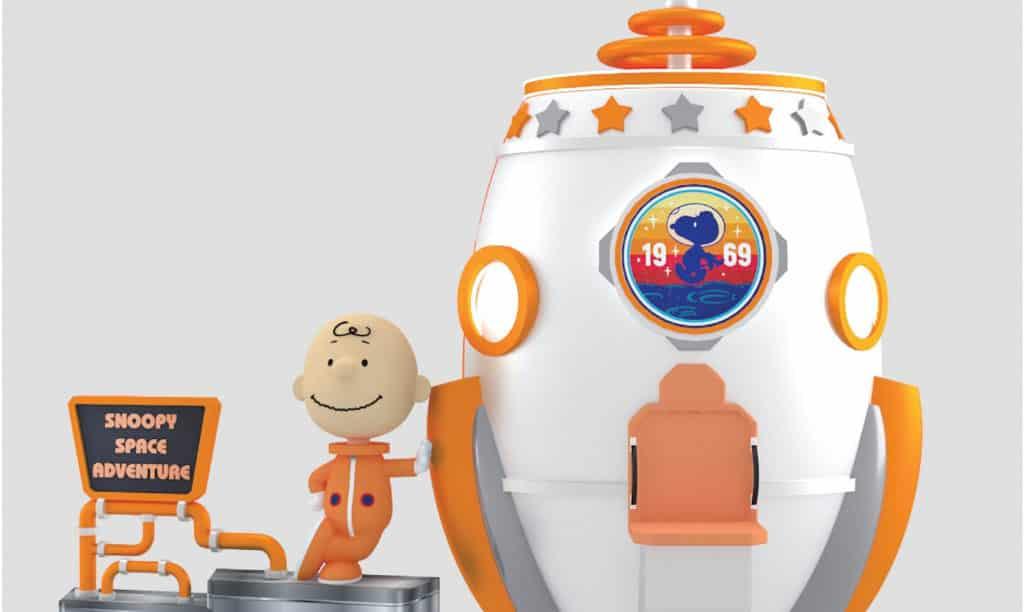 又一城:史諾比·星空漫遊展覽 查理.布朗乘著「阿波羅10號」太空船登場