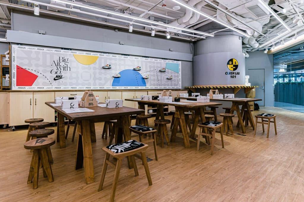 "THE FOREST商場:""Clash Lab""Nike期間限定創意藝術空間 Nike Hong Kong 亦與 Brainrental 合作舉辦多場四驅車工作坊"