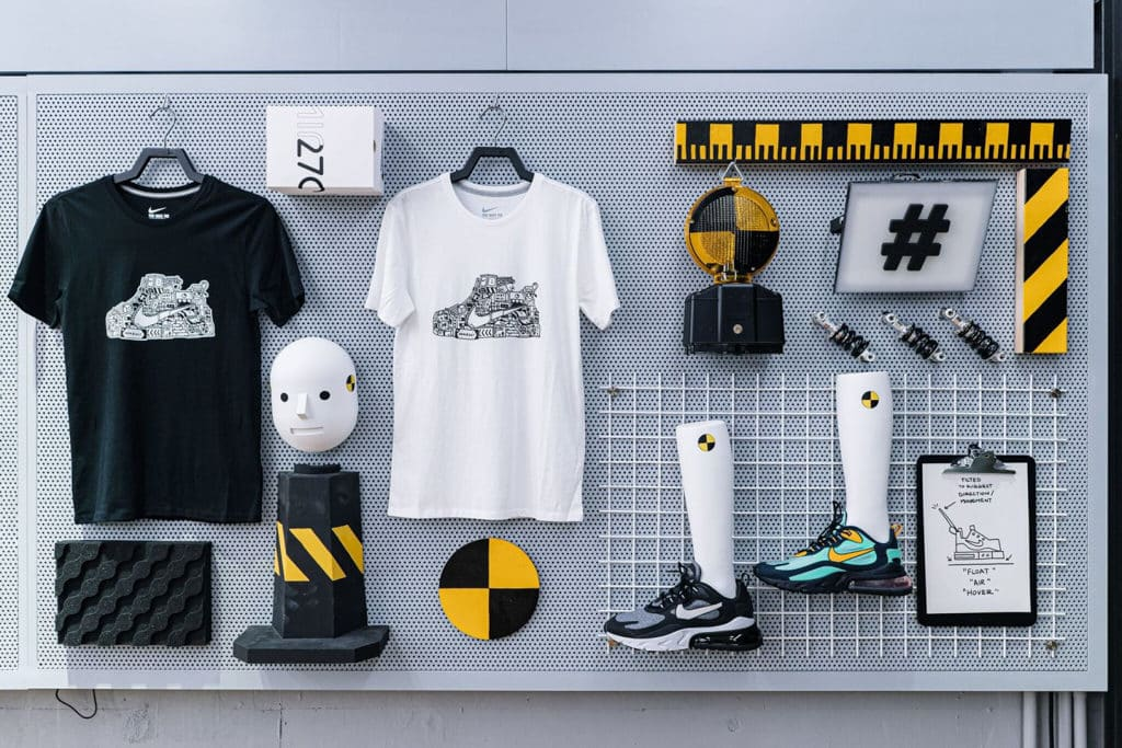 "THE FOREST商場:""Clash Lab""Nike期間限定創意藝術空間 場內同時展示出全新 Air Max 270 React 系列"