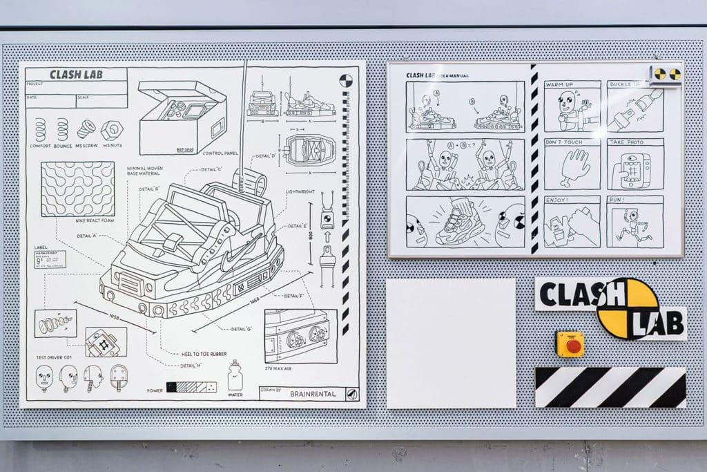 "THE FOREST商場:""Clash Lab""Nike期間限定創意藝術空間 工作坊讓參加者實踐基本的摺紙技巧"