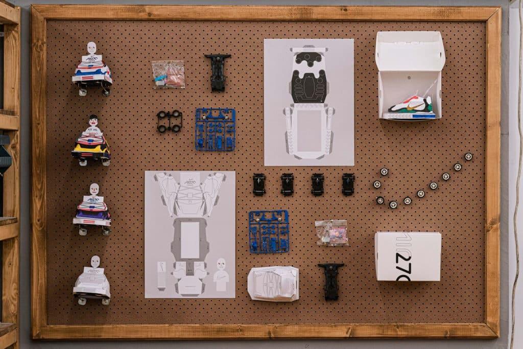 "THE FOREST商場:""Clash Lab""Nike期間限定創意藝術空間 四驅車工作坊《Clash Lab 101》"