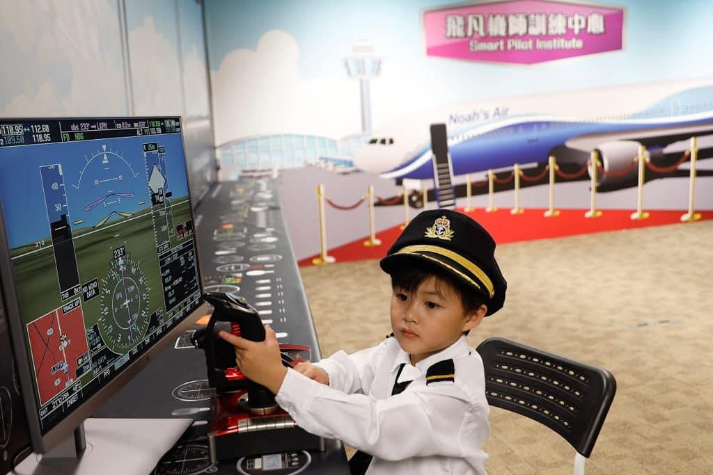 挪亞方舟:快樂夢想特工隊 飛凡飛機師訓練中心
