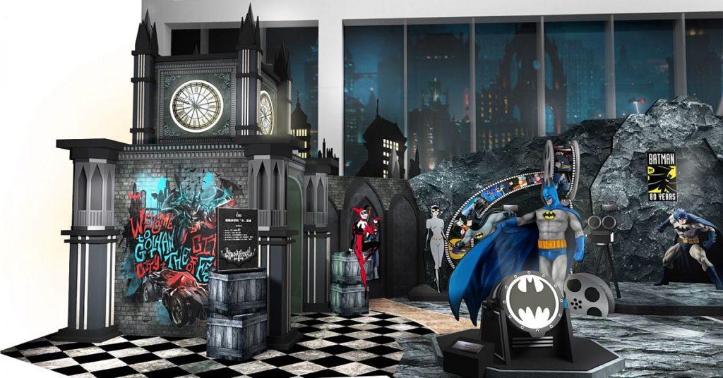 8 大雕塑級 1:1 原大蝙蝠俠與羅賓雕像將於 The ONE 商場現身。