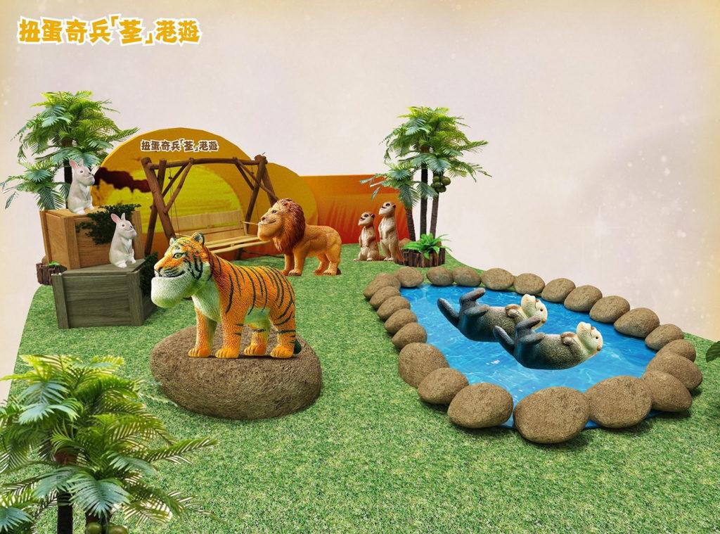 荃灣廣場活動:扭蛋奇兵『荃』港遊展覽 日本扭蛋品牌「熊貓之穴」展覽首度登陸香港