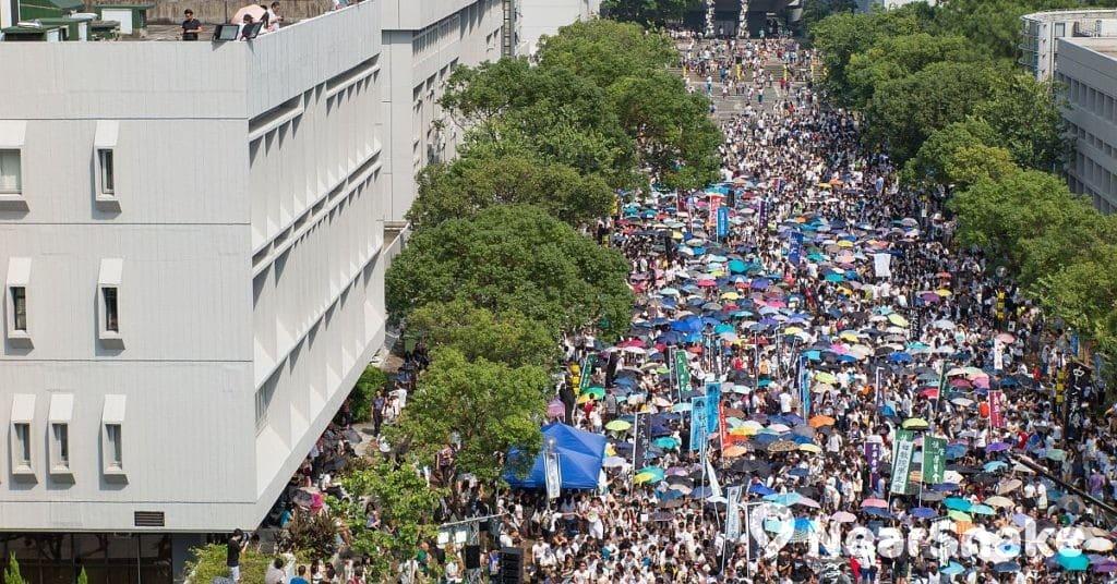 香港 10 間大專院校學生會將於 2019 年 9 月 2 日在香港中文大學百萬大道舉行罷課集會。