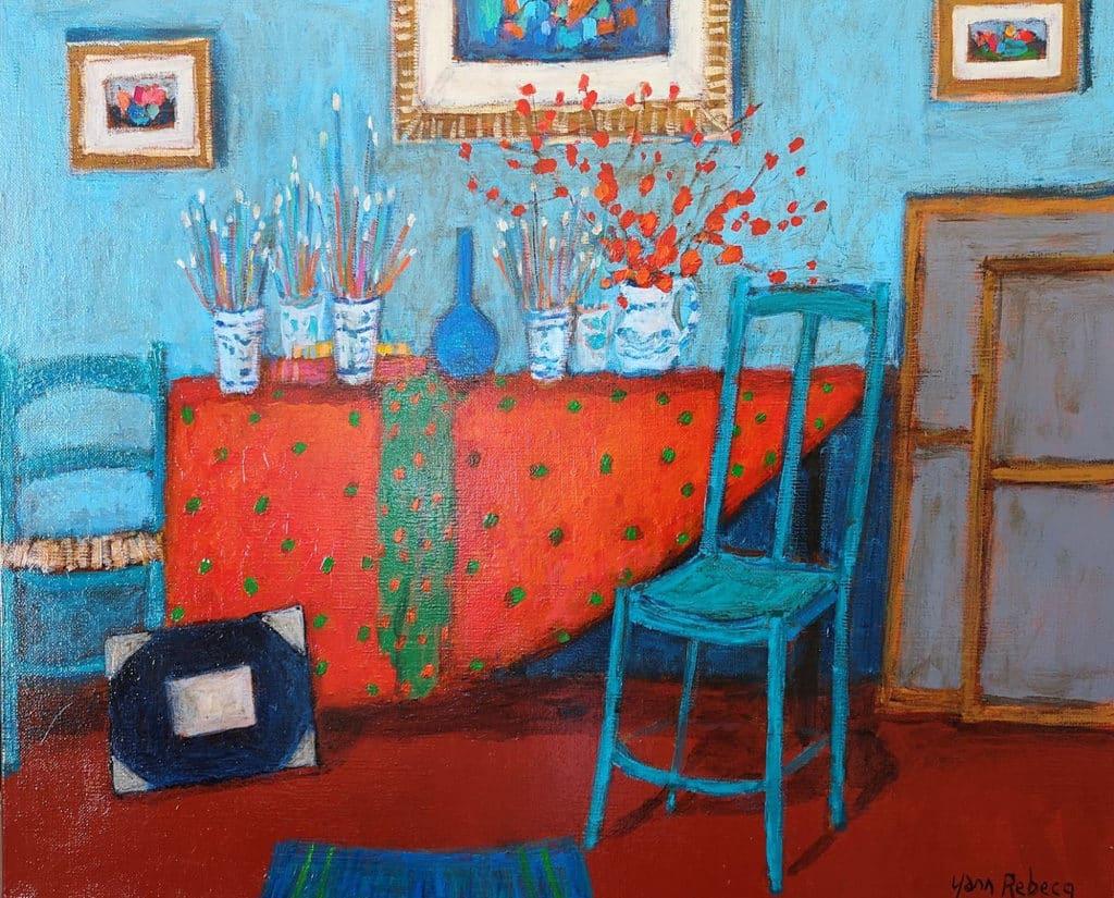 亞洲當代藝術展2019秋季展 Yann Rebecq,法國 ‒ Inna Khimich Art Gallery,房間 4208