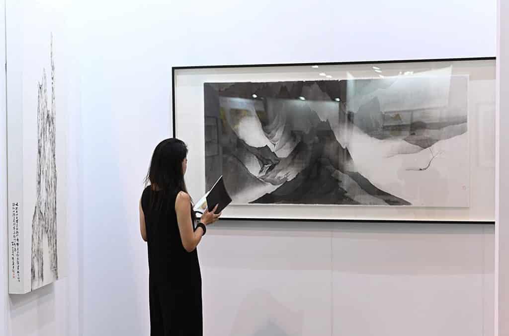 會展:典亞藝博2019 水墨藝博2019是全球首個專注於當代水墨的藝術博覽會。