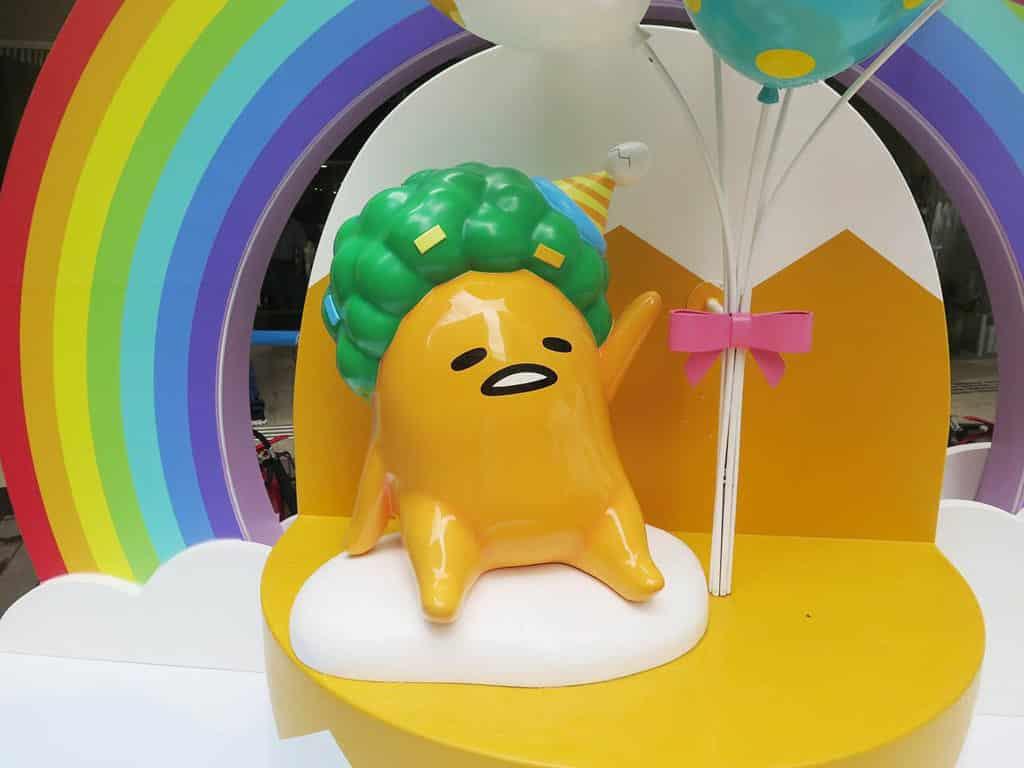 將軍澳翩滙坊商場:Gudetama盛大Chill-lebration Chill萌熱氣球樂園