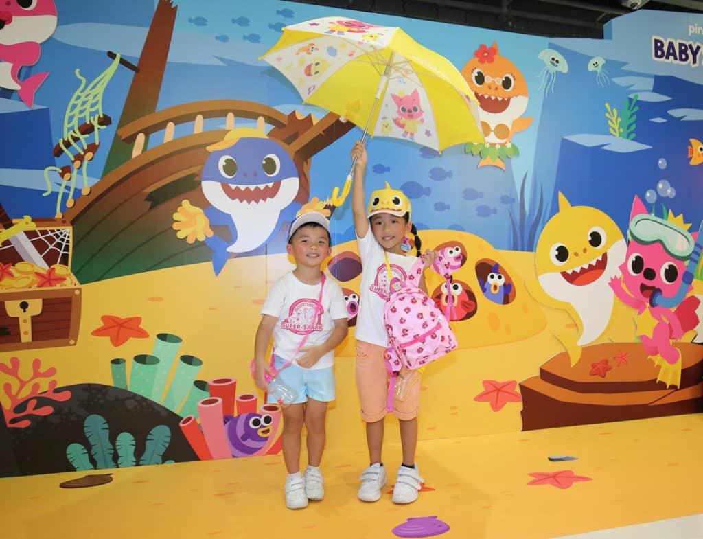 Baby Shark主題超級鯊魚「游」樂場|海港城與Pink Fong聯手打造 PINKFONG期間限定店