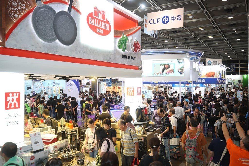 家電•家品•博覽 2019 匯集 185 家展商,展示各式廚房電器、廚具、餐具。