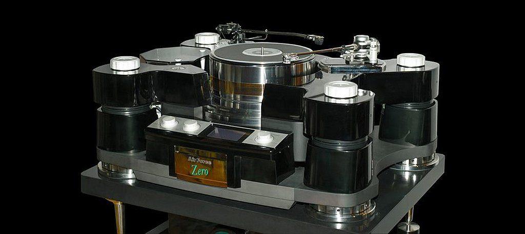 大家可在香港高級視聽展 2019 會場找到設計獨特的黑膠唱盤。