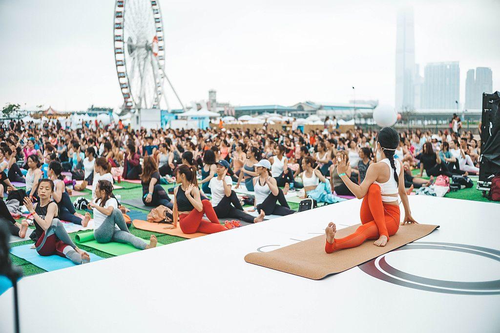 IRIS:Your Escape-無論是初學瑜珈或進階人士都能參與瑜伽主舞台活動。