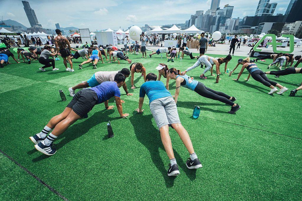 IRIS:Your Escape-體能專區歡迎喜愛挑戰的高強度Bootcamp及Street Workout的人士參與。
