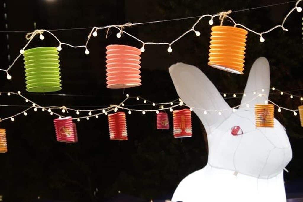 饒宗頤文化館會場將架設巨型月兔及月亮裝置,供大家自拍打卡。