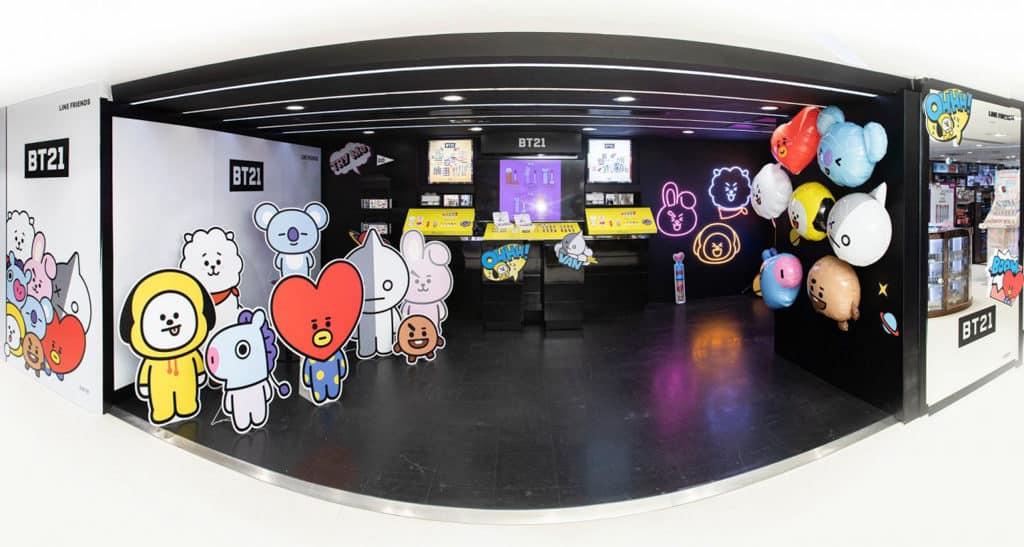 禮頓中心:宇宙明星BT21期間限定店 BT21 POP-UP STORE 進駐禮頓中心 Sa Sa Supreme