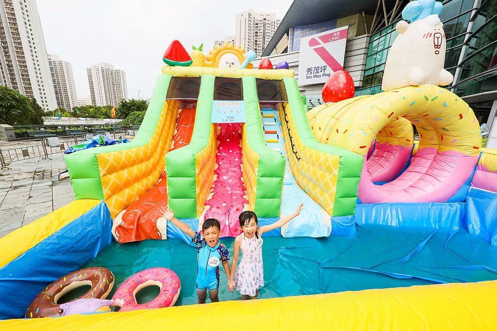 秀茂坪商場×Theory Theory 夏日限定水上派對-「愛因獅坦」蛋糕樂園