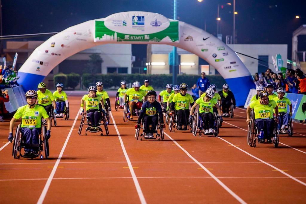 渣打馬拉松首次試推「傷健人士名額」500 個,並開設「十公里輪椅賽」新路線。