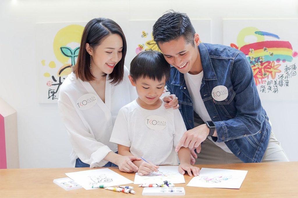 「虫畫。童心」阿虫作品展主於周末期間將舉行親子工作坊及講座。
