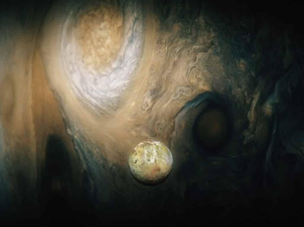 太空館:立體球幕電影《飛越行星3D》木衞一橫越木星表面