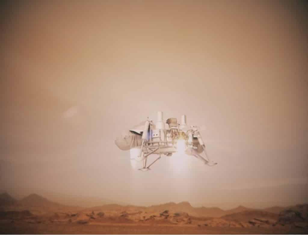太空館:立體球幕電影《飛越行星3D》維京1號