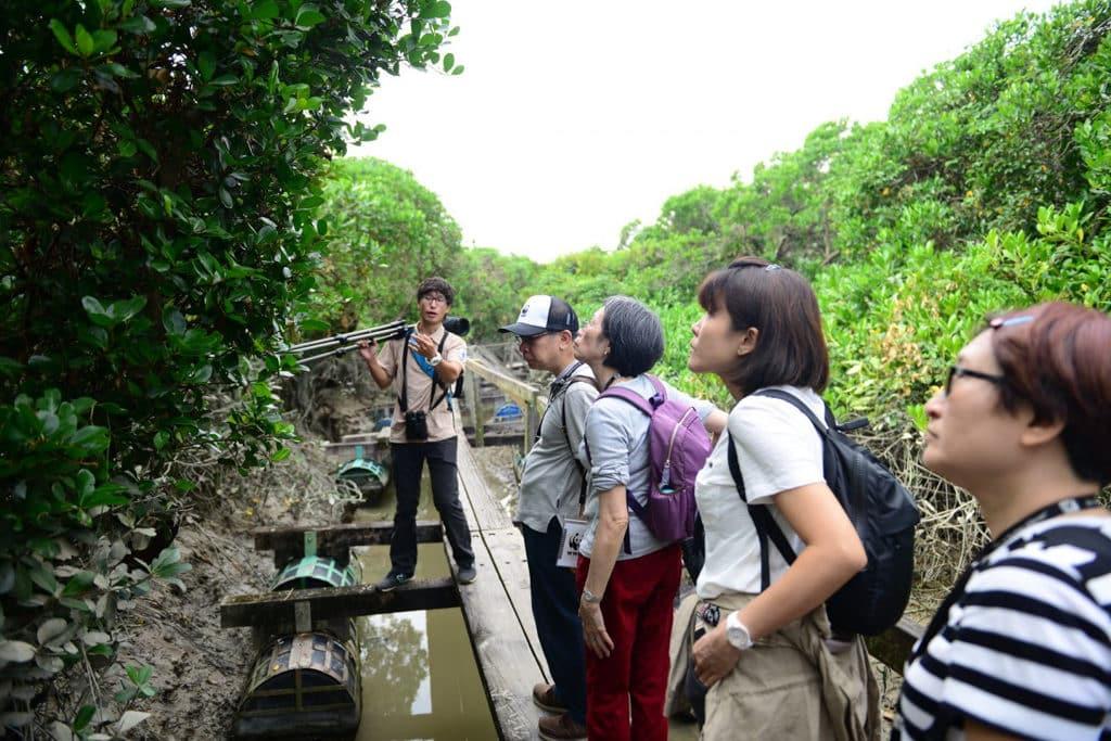 米埔:世界自然基金「步走大自然」米埔慈善步行 2019 全長約 5 公里的步行路線,參加者將途經米埔獨特的生態環境及景觀