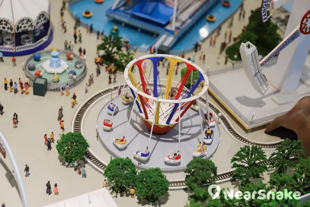 D2 Place:「我們的荔園」展覽及嘉年華 八爪魚等遊樂設施縮細重現。