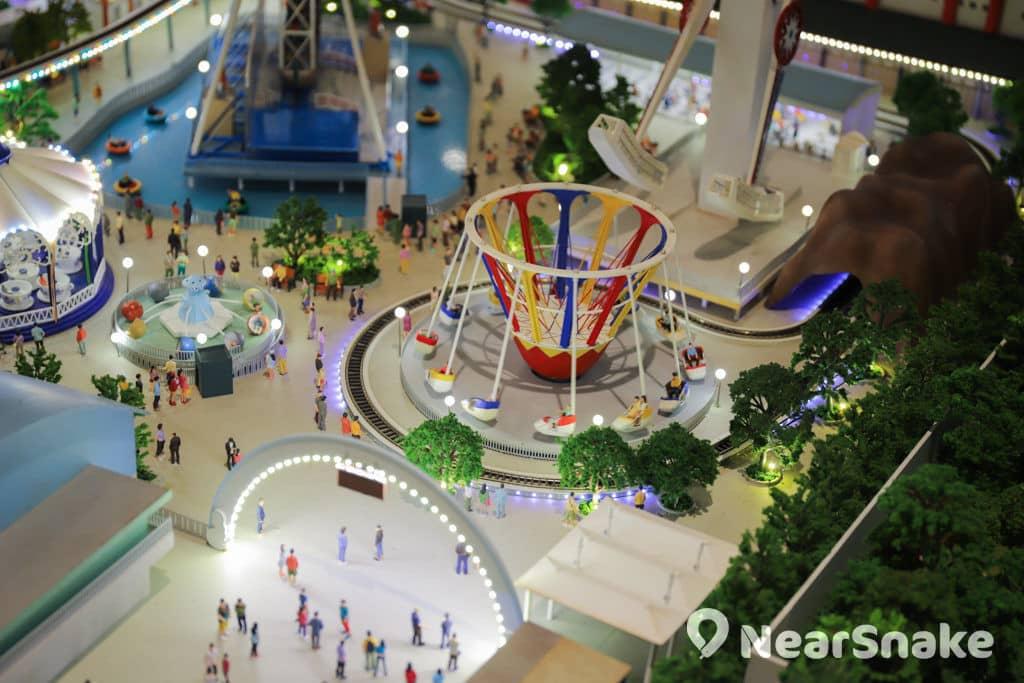 D2 Place:「我們的荔園」展覽及嘉年華 微縮模型以 1: 64 比例重現多個具代表性的地點。