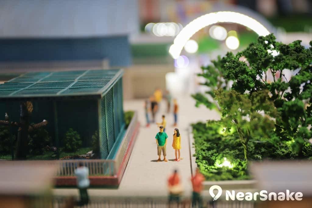 D2 Place:「我們的荔園」展覽及嘉年華 微縮模型內的人物造型細緻。
