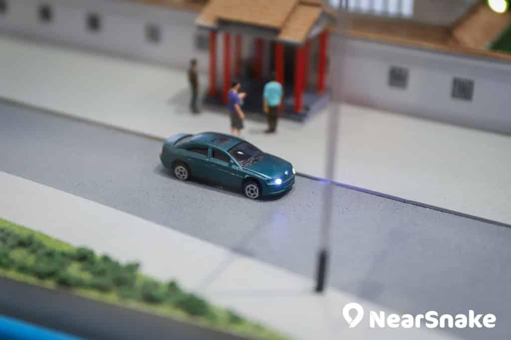D2 Place:「我們的荔園」展覽及嘉年華 微型汽車車頭亦會亮起車頭燈,相當細緻。