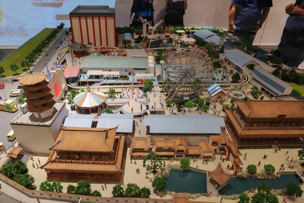 D2 Place:「我們的荔園」展覽及嘉年華 微縮模型規模相當大,造工一絲不苟。