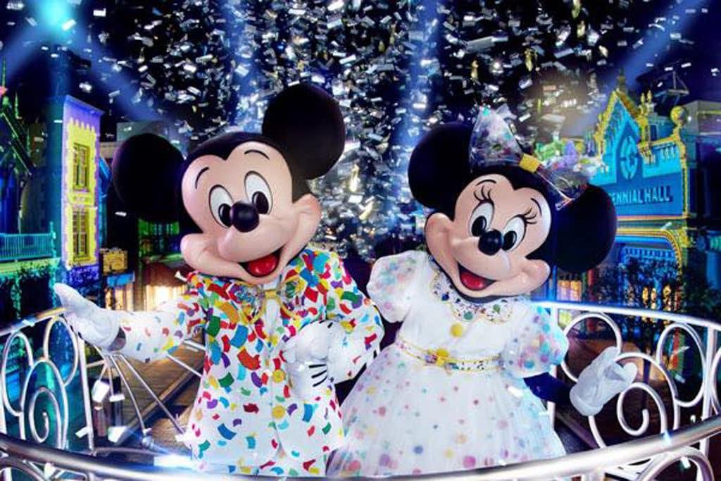 迪士尼樂園:迪士尼奇妙倒數派對 今年會舉辦迪士尼歷來最大規模的倒數派對。