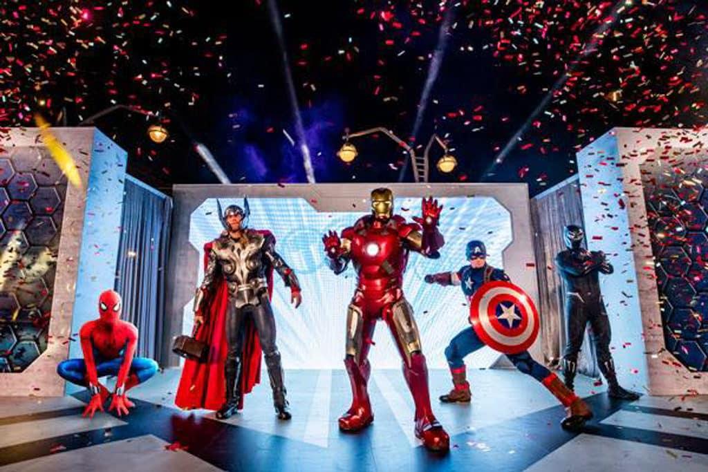 迪士尼樂園:迪士尼奇妙倒數派對 Marvel 超級英雄與你慶祝跨年。