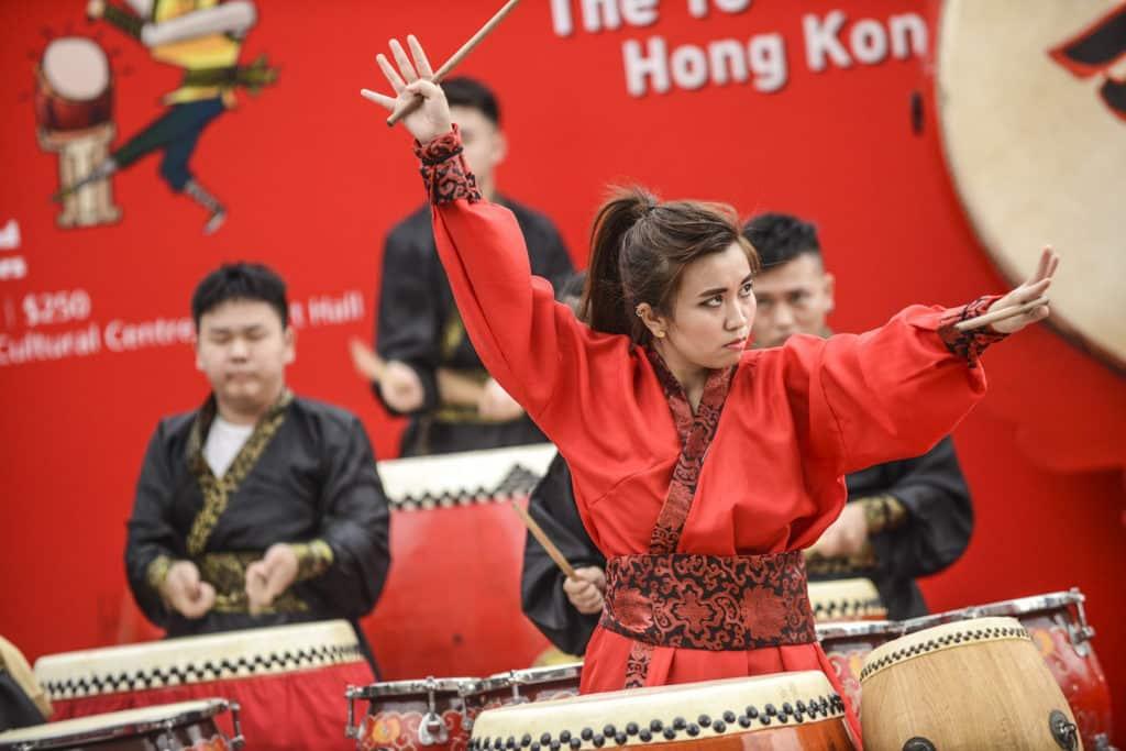 香港文化節2019 醒獅鼓樂組