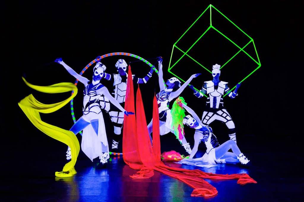 黃埔天地:Lumieres Whampoa光影舞動黃埔夜 歐洲世界級表演團隊 Anta Agni 展現嶄新光影表演