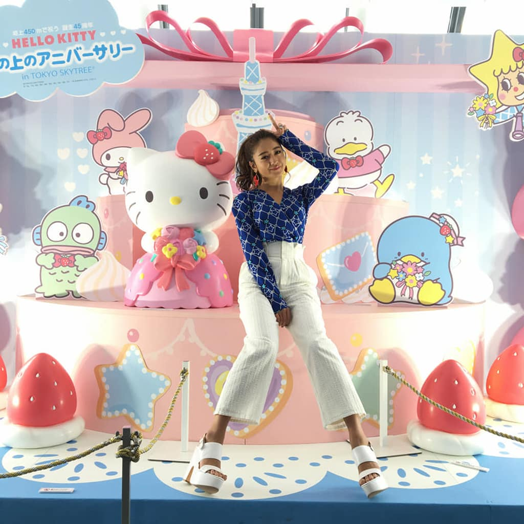 """Run-derful Party"" Hello Kitty 45週年大型戶外慶祝活動 日本為 Hello Kitty 舉辦一系列 45 週年慶生活動。"