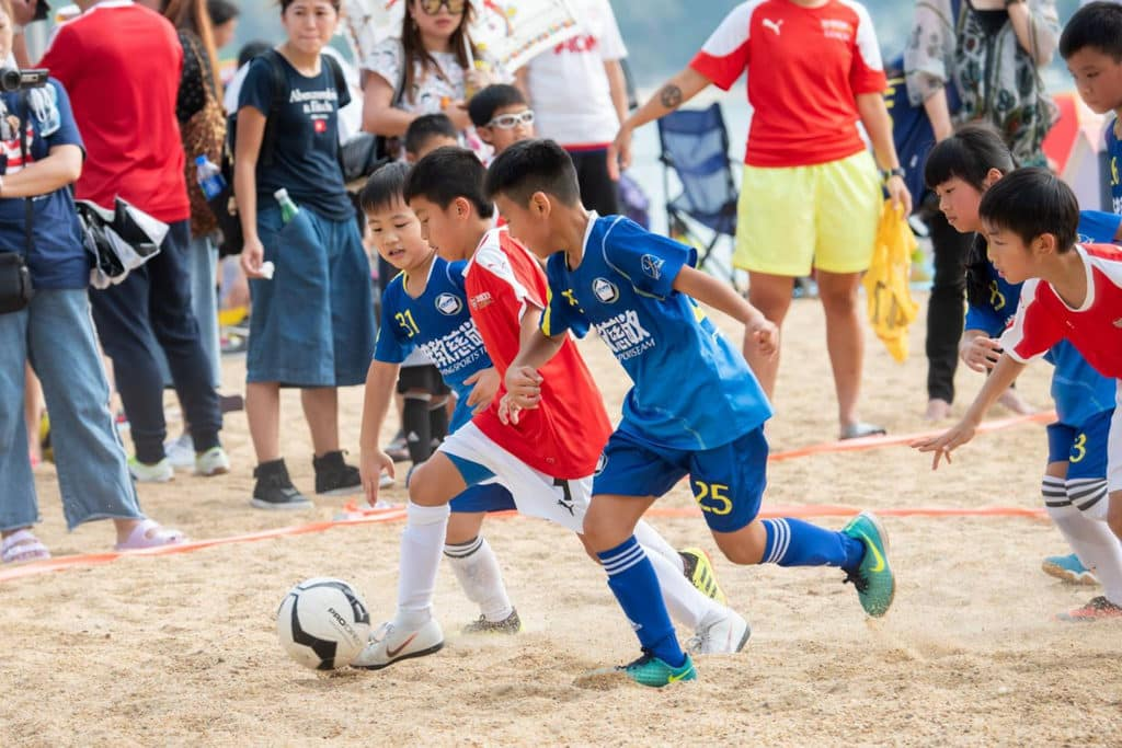 淺水灣:香港沙灘節2019 兒童沙灘足球比賽