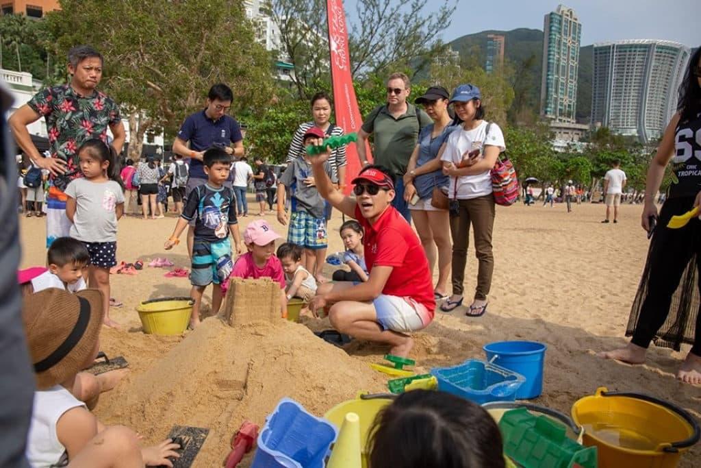 淺水灣:香港沙灘節2019 堆沙堡壘同樂日