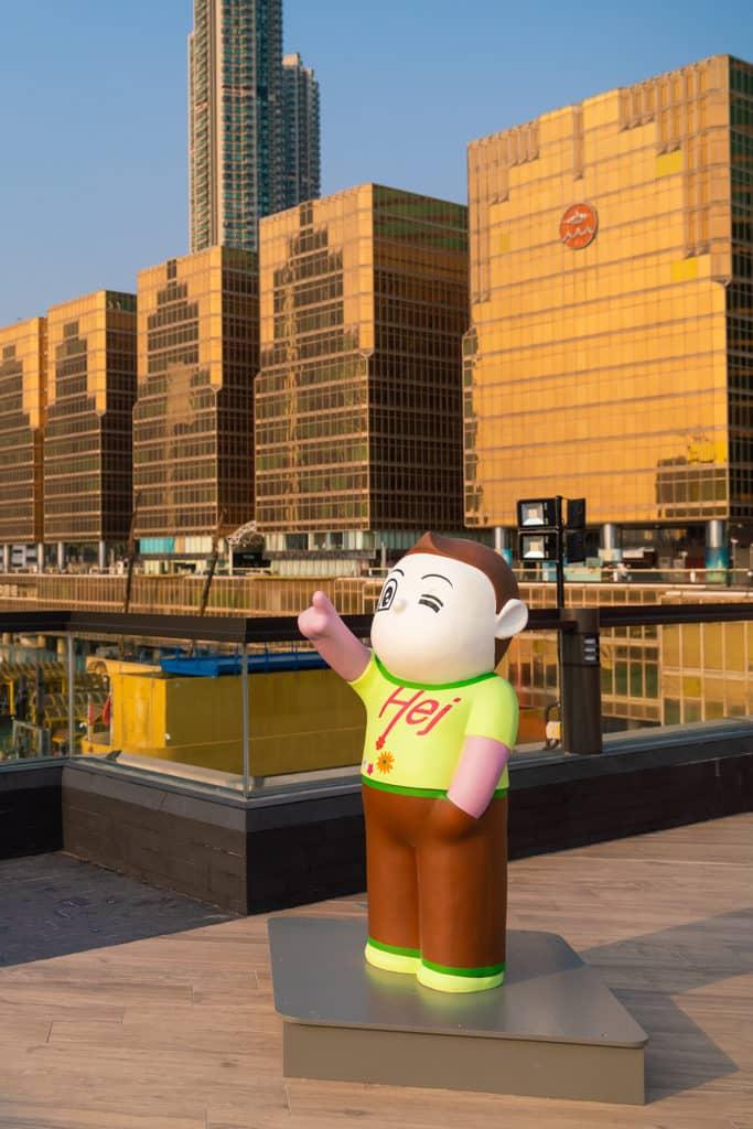 中港城:「天天向上」藝術展 是次展覽旨在推廣本地藝術設計以及多媒體製作。