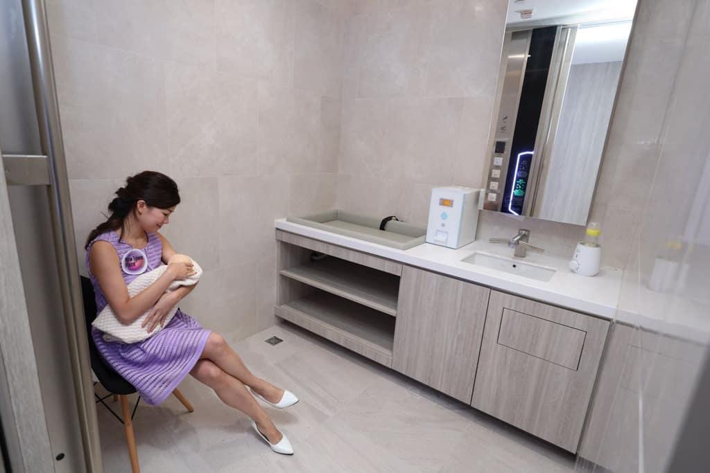 龍猫期間限定戶外親子公園|沙田新城市廣場第三期 獨立哺乳室