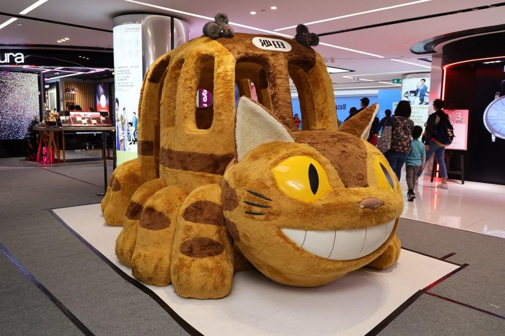 龍猫期間限定戶外親子公園|沙田新城市廣場第三期 「貓巴士」打卡裝置