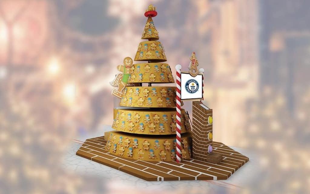 新港城中心:Guinness World Records - MOSTown聖誕歷奇 新港城中心製作的大型紙製立體聖誕賀卡,刷新 Guinness World Records 世界紀錄。