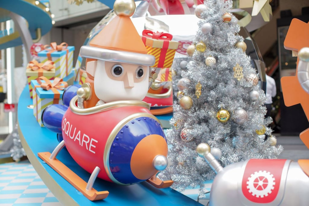 iSQUARE:Robotic Christmas聖誕大型裝置 4