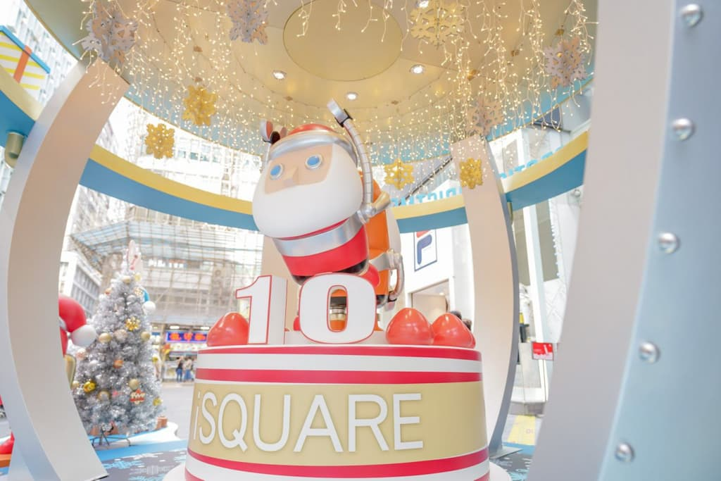 iSQUARE:Robotic Christmas聖誕大型裝置 5