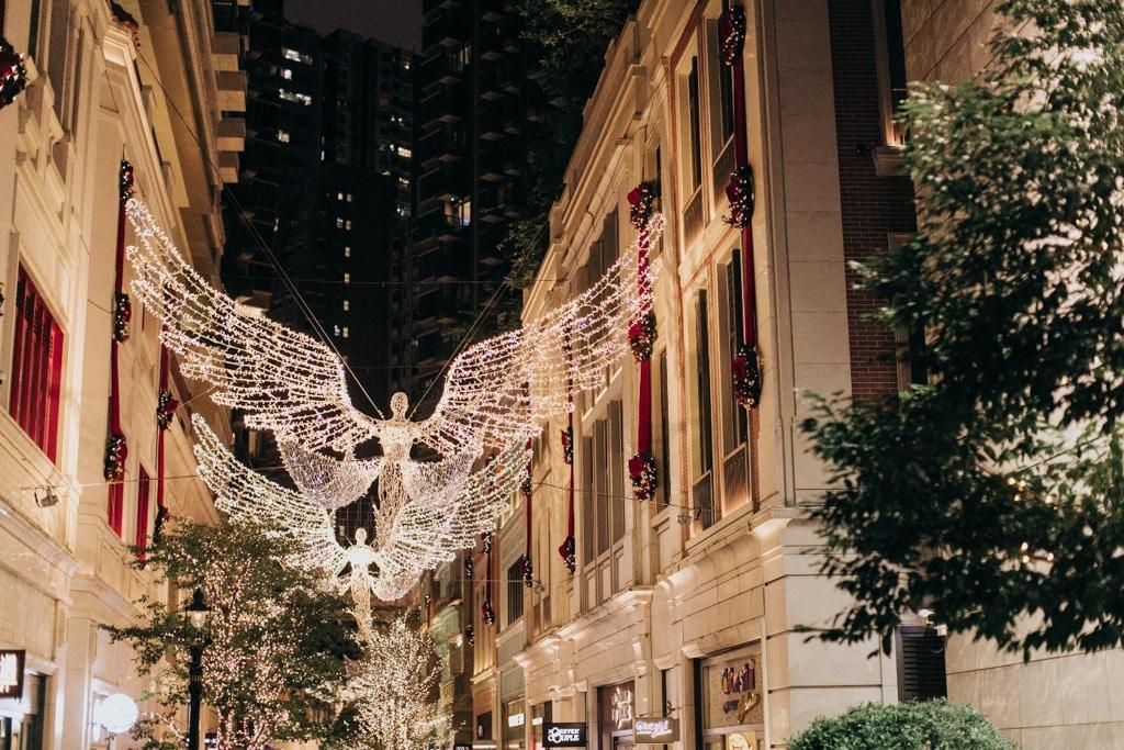 利東街:Wings of Christmas 倫敦聖誕燈飾「The Spirit of Christmas」今年繼續帶到香港。