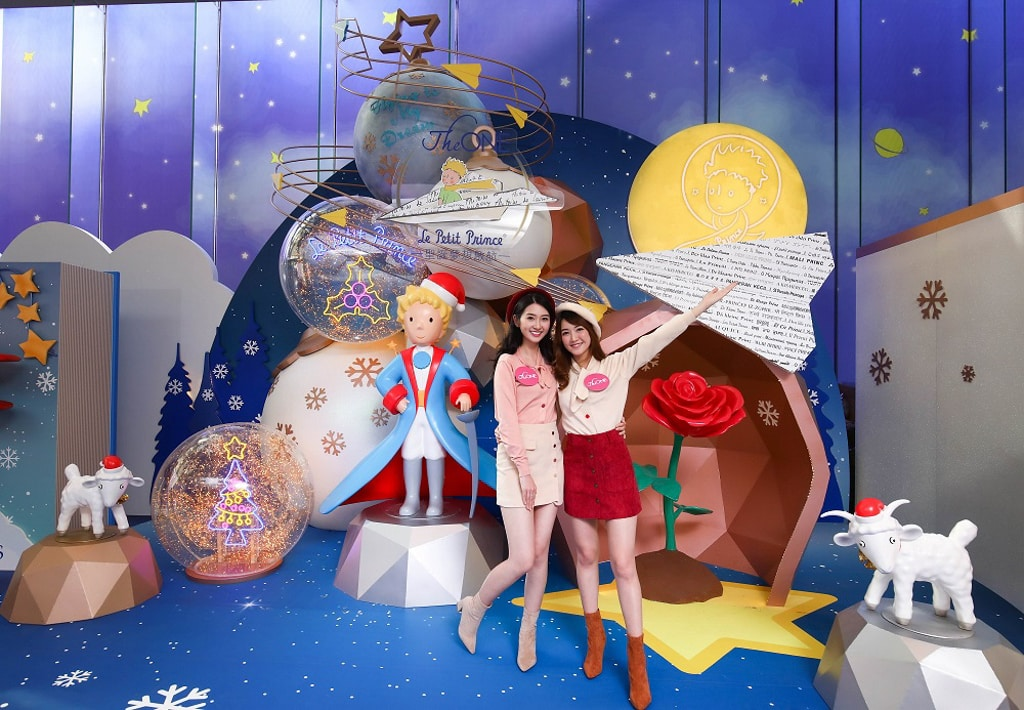 The ONE x Le Petit Prince 聖誕夢想啟航 幻彩幾何聖誕樹