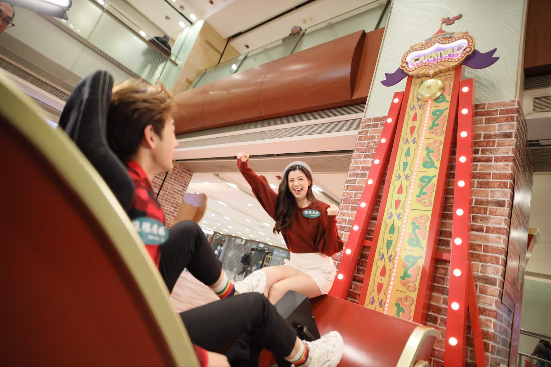 德福廣場:互動聖誕嘉年華 聖誕單車耐力挑戰