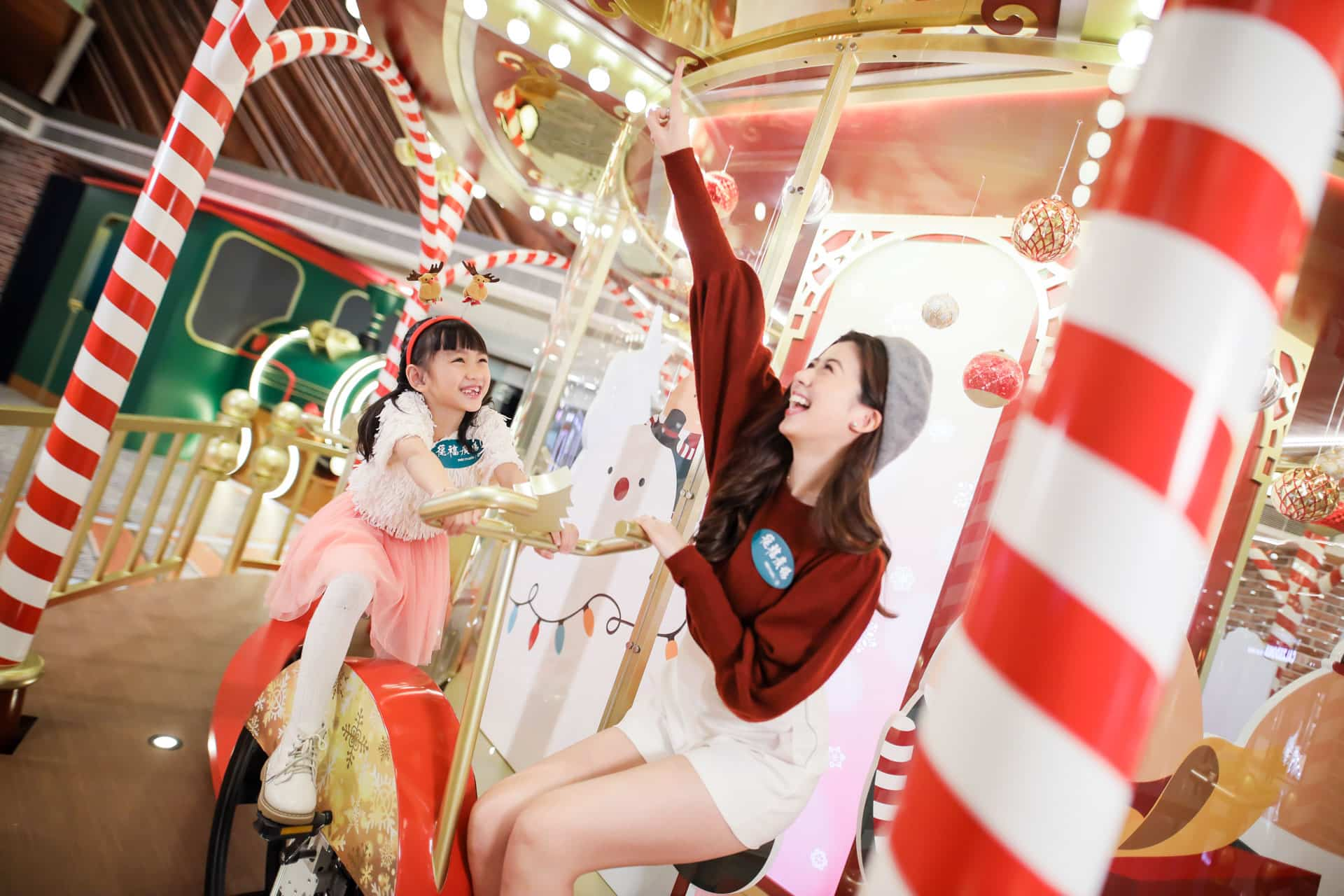 德福廣場:互動聖誕嘉年華 巨型單車旋轉木馬