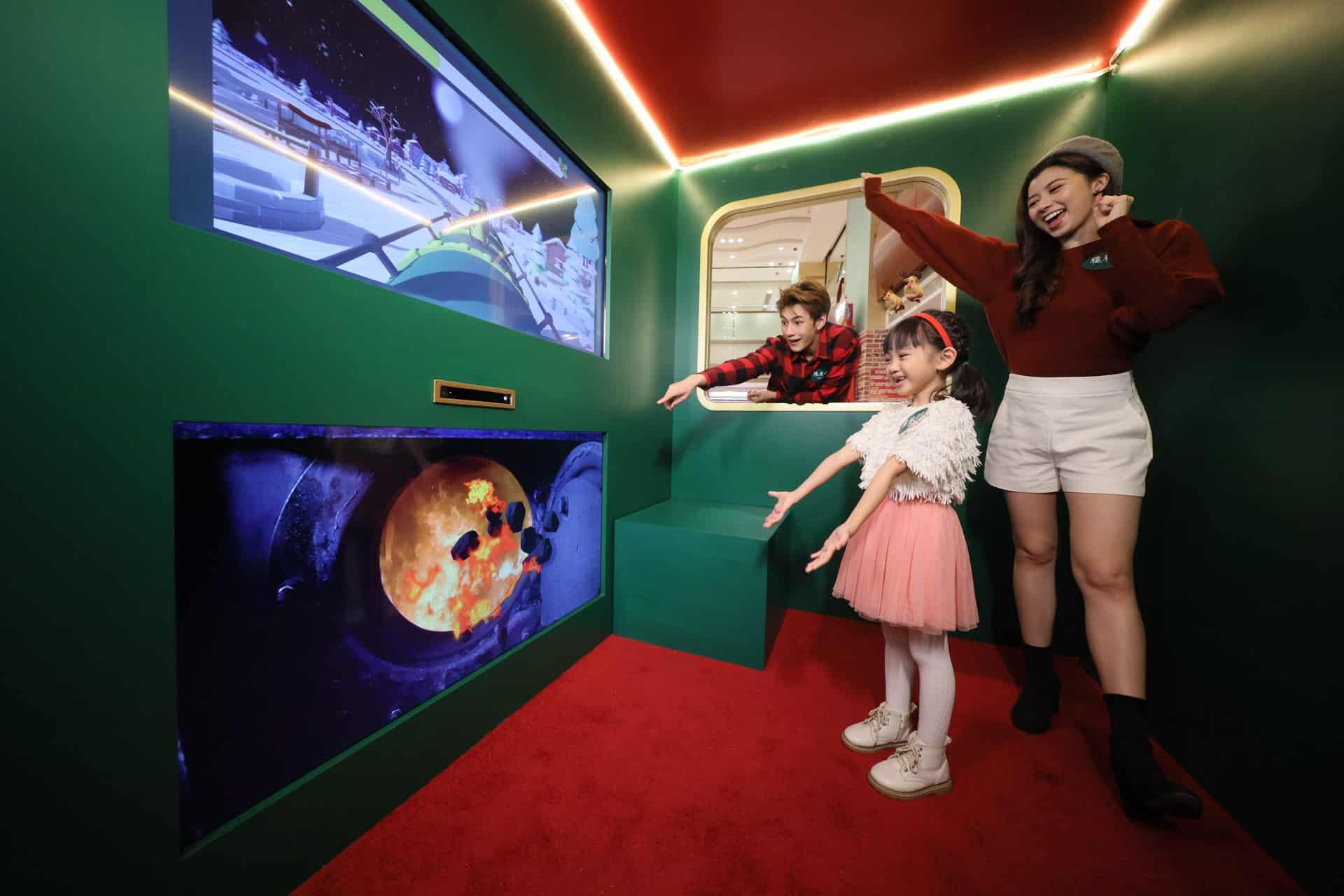 德福廣場:互動聖誕嘉年華 體感聖誕火車