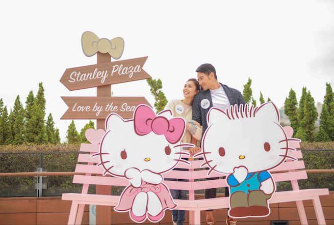 赤柱廣場:Hello Kitty. Dear Daniel Love by the Sea